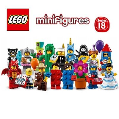 Pick your own! 🎈 LEGO Party Collectible Minifigure Series 18 🎂 71021