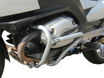 Paramotore Crash Bars HEED BMW R 1200 RT (2005 - 2013) - argento protezione