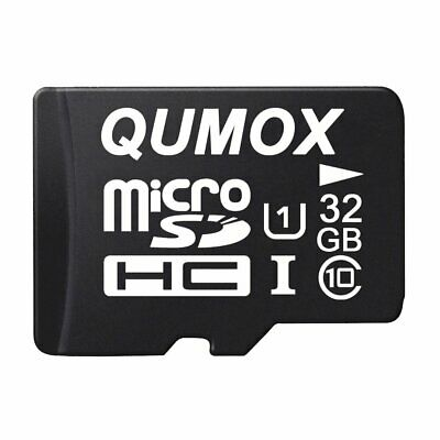 QUMOX 32GB MICRO SD MEMORY CARD CLASS 10 UHS-I 32 GB SPEICHERKARTE Jan