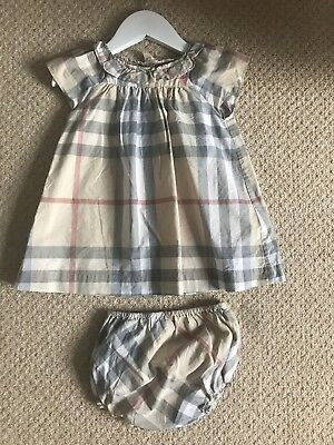 Burberry baby girl dress