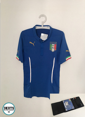 ITALY 2014/15 Special Case PLAYER ISSUE Home Football Shirt L Soccer Jersey PUMA