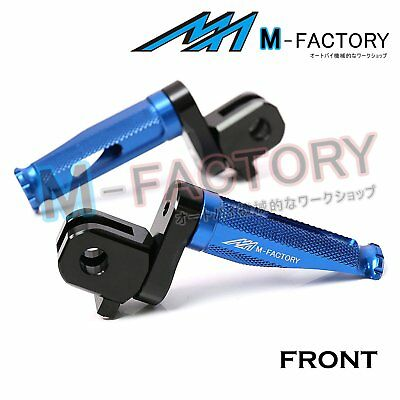 Fit MV Agusta F4 1000R / S All Year CNC Blue Adjustable Front Footpegs