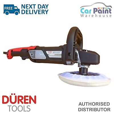 Duren Tools 321270 Electric Rotary Polisher 150mm Backing Pad 1200w