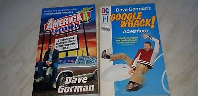 Dave Gorman: two entertaining books from the comedian