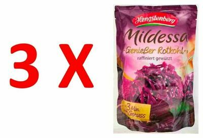 2X Gourmet Red Cabbage in Pouch 400g, Hengstenberg Mildessa