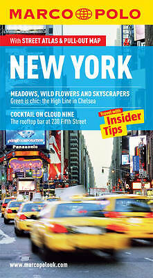 New York Marco Polo Pocket Guide by Marco Polo Travel Guide Paperback + Map