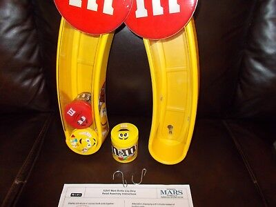 M&M (2) M&M Candy Displays Collectible M&M Display M&M Excellent Condition RARE