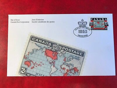 Canada 1998 Fdc Imperial Penny Post St Edward's Crown Sir William Mulock