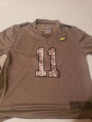 buy popular cabdb a6bf8 CARSON WENTZ SALUTE To Service Jersey Xl