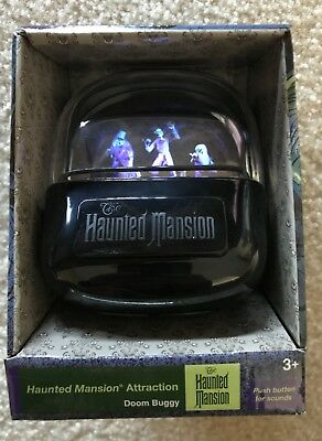 Disney Haunted Mansion Attraction Doom Buggy Lights Up with Sound