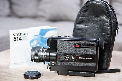 Vintage Canon 514XL Super 8 mm Movie Camera - Tested/Works
