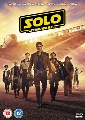 Solo: A Star Wars Story [DVD] [2018] new UK VERSION