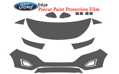 Full Front Precut Paint Protection Film Kit - Ford Edge 2018-2015 Clear Bra