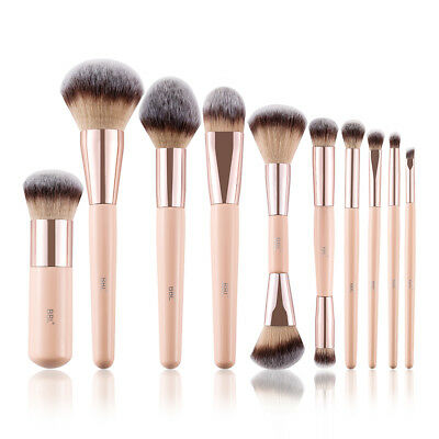 BBL® Premium Makeup Brushes Set Kabuki Foundation Eyeshadow Blush Dual Ended