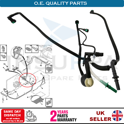 Fuel Line Pipe Harness And Primer Pump For Citroen C2 C3 Xsara 1.4 Hdi 1574.t0