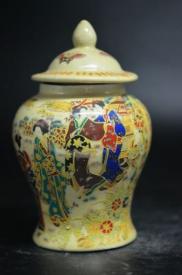 Distinctive Collection Chinese old Porcelain Painting  Maid Chart Exquisite  Pot