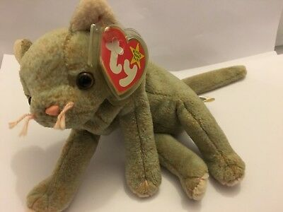 5c155362adc TY BEANIE BABY  Zip The Cat. Excellent Condition. With Tag - £2.00 ...