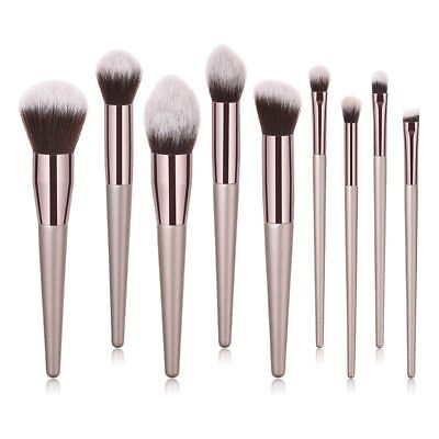 BBL® 4/9/10pcs/Set Luxury Champagne Gold Makeup Brushes Set Reals