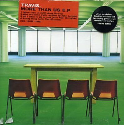Travis ‎– More Than Us E.P - CD