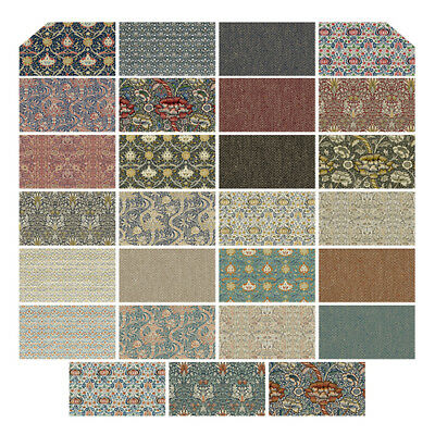 "Montagu 27 Fat Quarters 18"" X 22"" by The Original Morris & Co. for FreeSpirit"