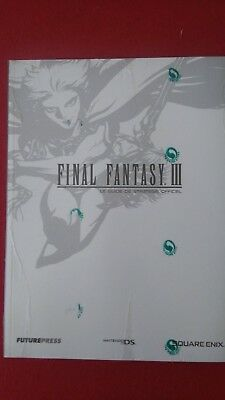 Guide de stratégie officiel FUTUREPRESS - Nintendo DS - Final Fantasy III  NEUF
