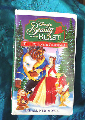 Disney Beauty & the Beast THE ENCHANTED CHRISTMAS clamshell original cast HLFL