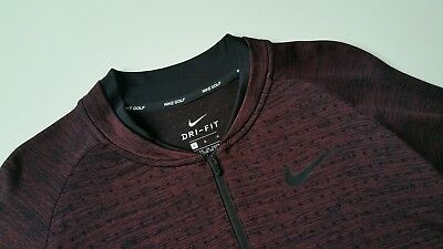 New Nike Seamless 1/2-Zip Long Sleeve Pullover Golf Top, 892221-652, M~XL