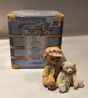 """Cherished Teddies Bailey & Friend #662011 """"The Only Thing More Contagious..."""""""