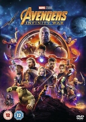 Avengers Infinity War DVD Brand New Sealed Region 2 Fast Delivery