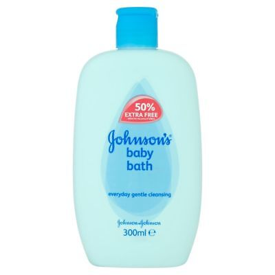 NEW 6x Johnsons Baby Bath Everyday Gentle Cleansing 300ml - No More Tears