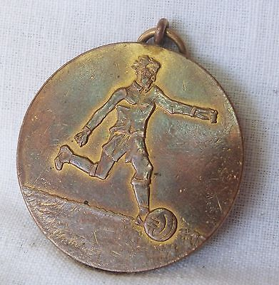 Antique 1927 Greece Greek Football Medal Gold Winner Award Trophy