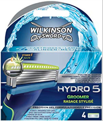 Wilkinson Sword Hydro 5 Razor Blades Pack Of 4 * Brand * New