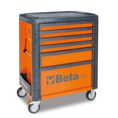 Beta Tools Special! Italy C33/6 Rollcab Orange 6 Drawer Toolbox Roller Cabinet
