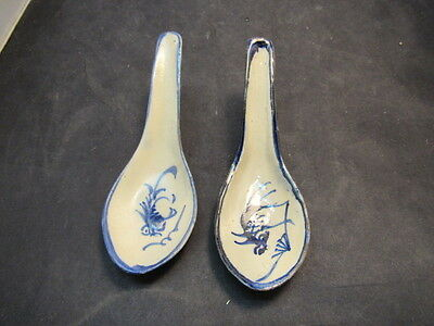 asian pottery spoons