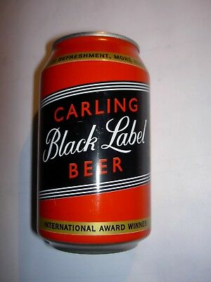 Volle Dose Carling Black Label Beer Bier abgefüllt in Südafrika South Africa