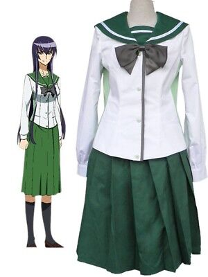 Highschool Of The Dead Cosplay Costume