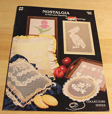 Nostalgia Net Lace Darning DB103 Collectors Series pattern booklet {RARE} demis
