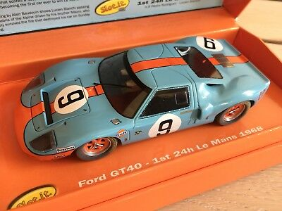 Slot it Ford GT 40 Mk II  Limited 1:32 Carrera NEU OVP Slotit Scalextric SCX
