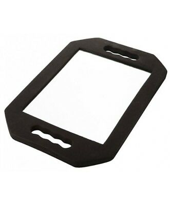 Omwah Two Handled Cushion Mirror Hairdressing Barber Salon Styling Handheld