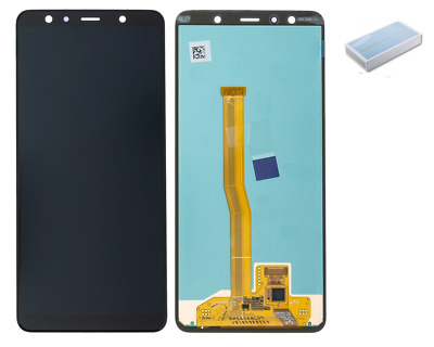 DISPLAY PER Samsung Galaxy A7 2018 A750F LCD NERO ORIGINALE TOUCH SCREEN NUOVO