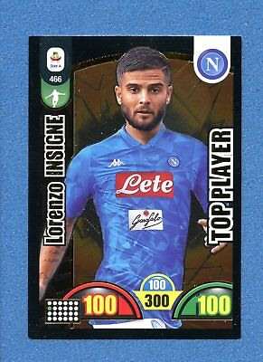 CALCIATORI 2018-19 -Adrenalyn Panini- Card TOP PLAYER n. 466 - INSIGNE - NAPOLI