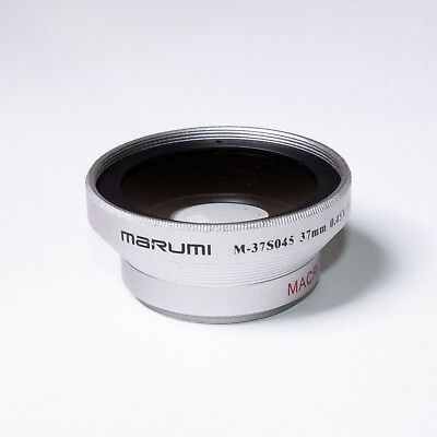 Marumi Wide Angle Converter Lens - Mount 37mm - 0.45x (M37S045)