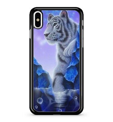 Fierce Stunning Snow White Majestic Marvellous Tiger Animal 2D Phone Case Cover