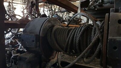 Vintage Winch good for Recovery work has been sitting