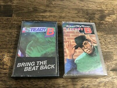 Steady B Cassette Tape Lot Bring The Beat Back Whats My Name Old School Hip Hop