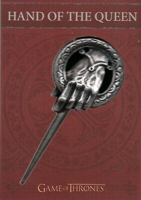 Game of Thrones Valyrian Steel, 'Hand of the Queen' Pin Relic Card #H8
