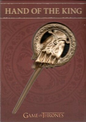 Game of Thrones Season 4, Hand of the King Pin Card Archive Exclusive H7 #16/100