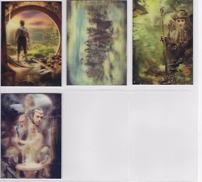 The Hobbit An Unexpected Journey, 'Lenticular Poster' Chase Card Set KA01-04