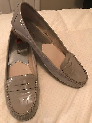 2e2a4a16cd7 MICHAEL KORS DAISY Embossed Leather Loafer US Women s Size 9.5 ...
