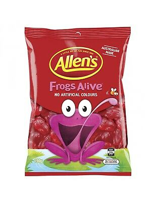 Allens Frogs Alive 190g x 12